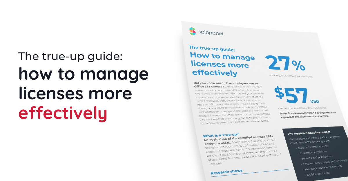 How to manage Microsoft license true-ups